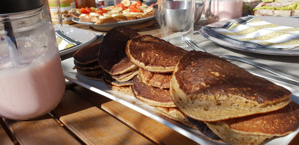 Recette pancakes bananes healthy : idées brunch healthy