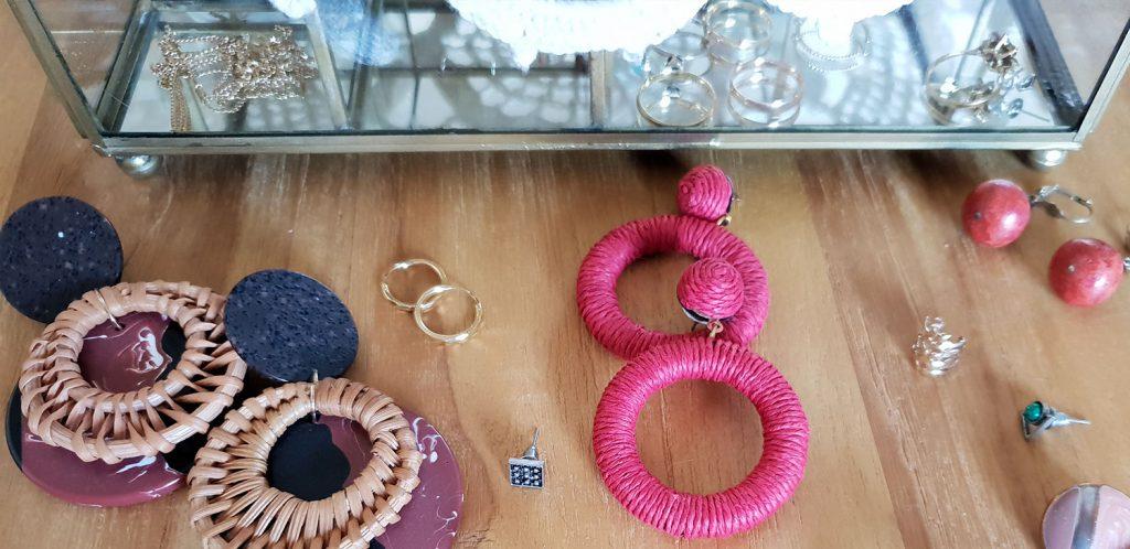 Boucles d'oreilles : accessoires de mode