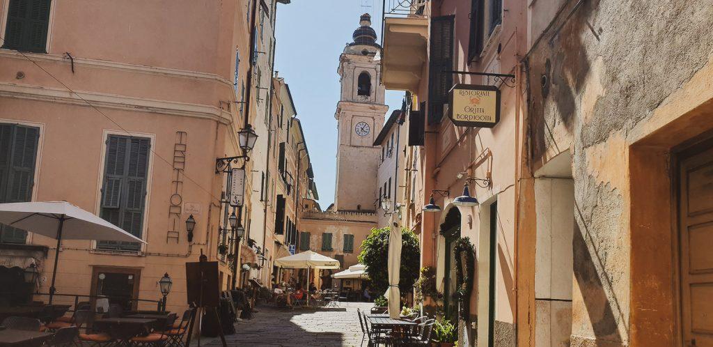 Voyage Italie Bordighera