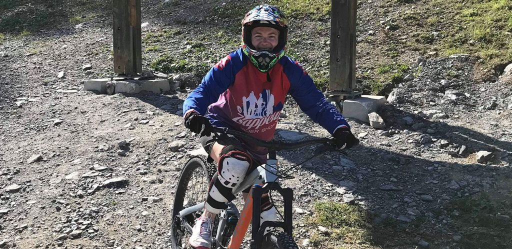 VTT de descente : Activités vacances à la montagne