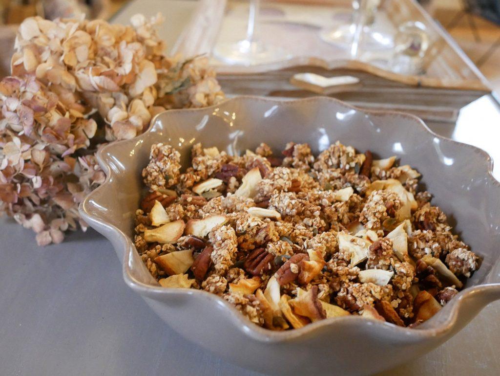 Recette granola maison