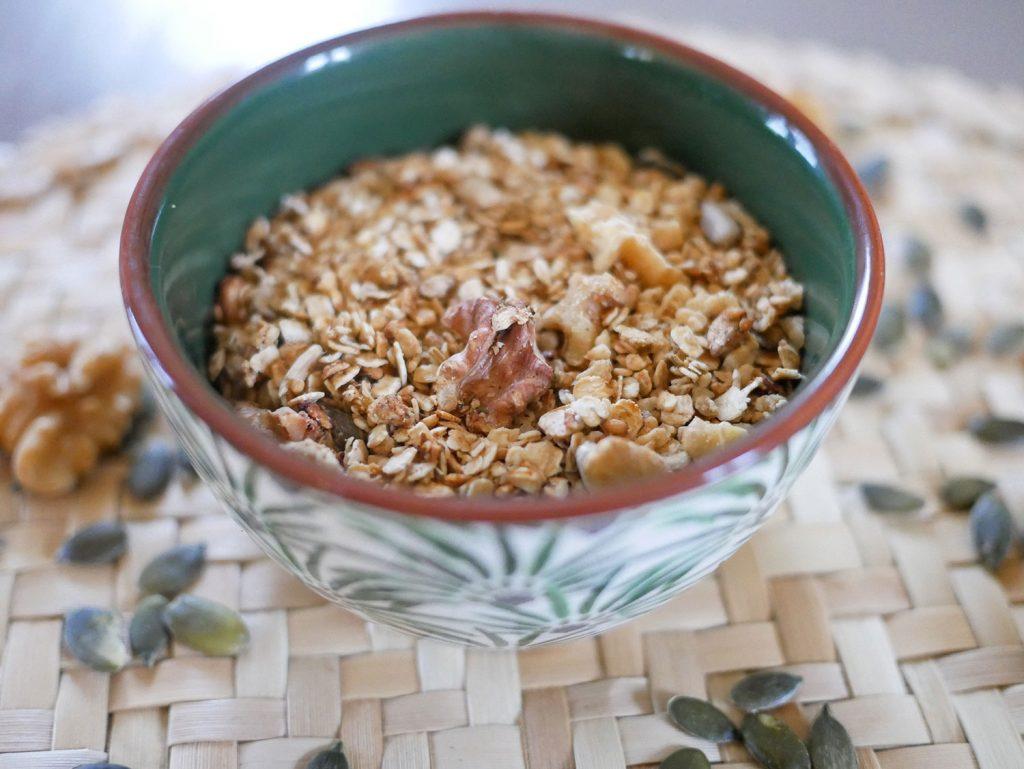 Recette granola maison salé